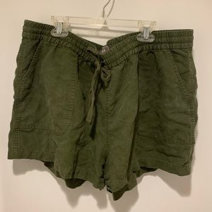 Point Sur for J. Crew Army Green Seaside Shorts